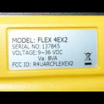 SN přijímače Flex EX2