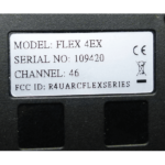 SN vysílače Flex EX